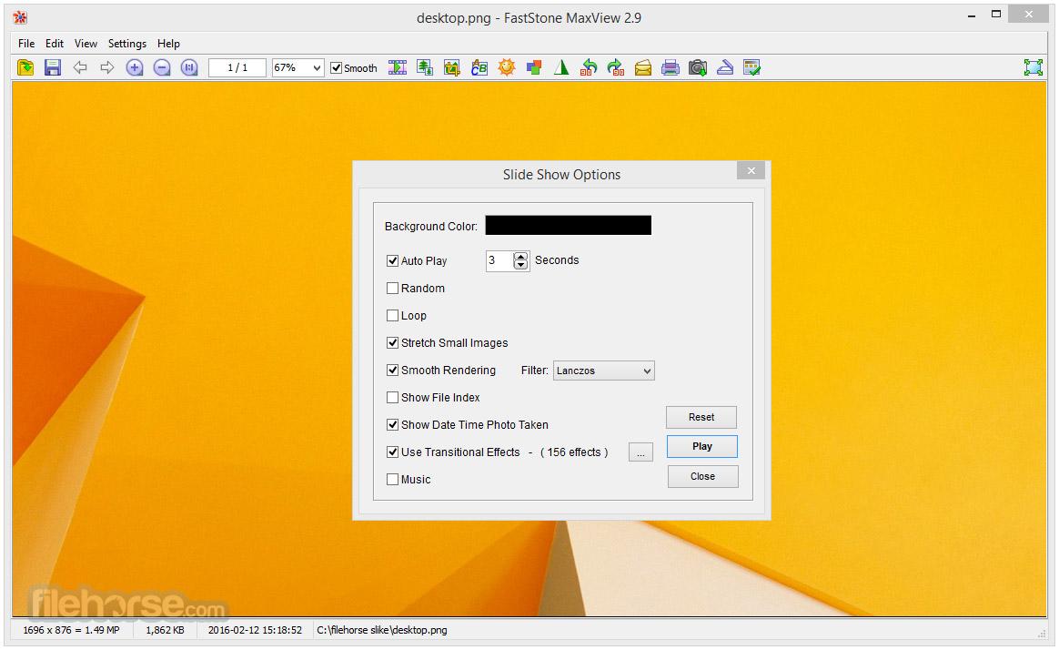 FastStone MaxView 3.1 Captura de Pantalla 3