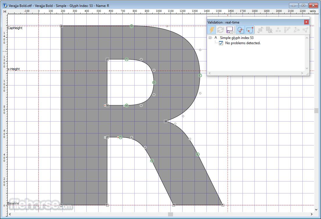 FontCreator 14.0.0.2808 (32-bit) Screenshot 3