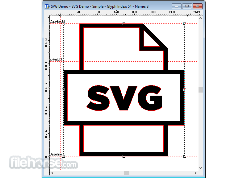 FontCreator 14.0.0.2808 (32-bit) Screenshot 4