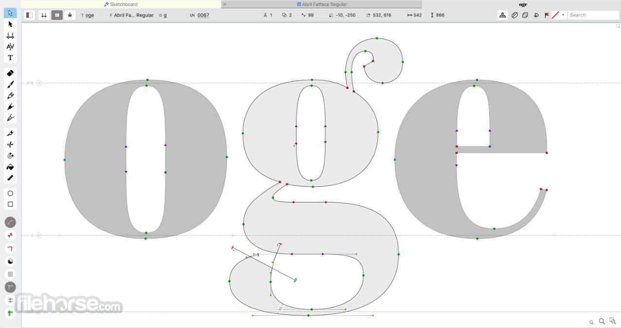 FontLab 7.2.0 Build 7644 Screenshot 2