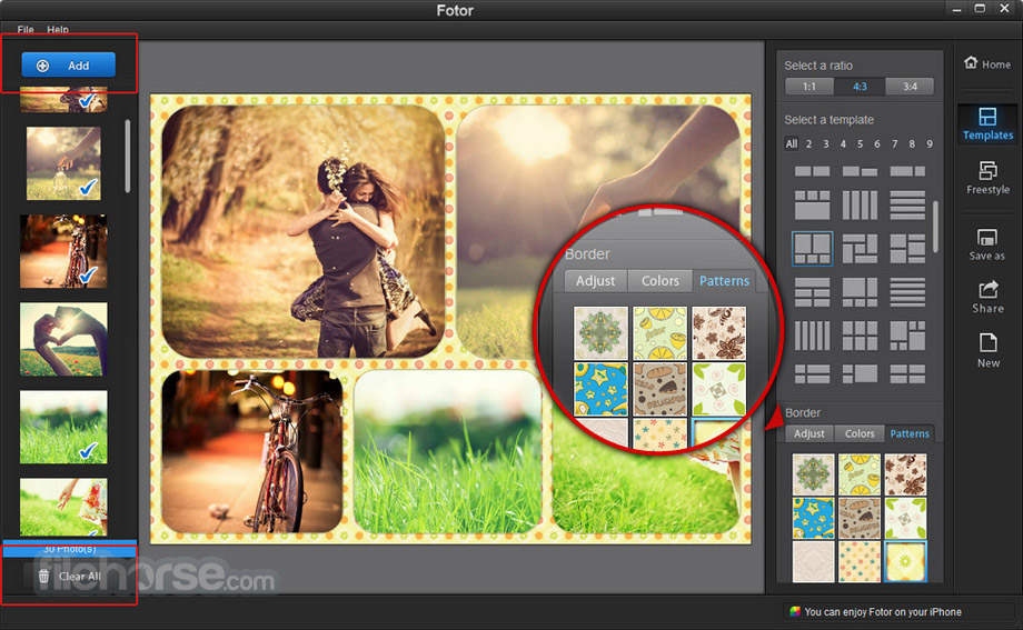 Fotor for Windows 3.4.1 Captura de Pantalla 5