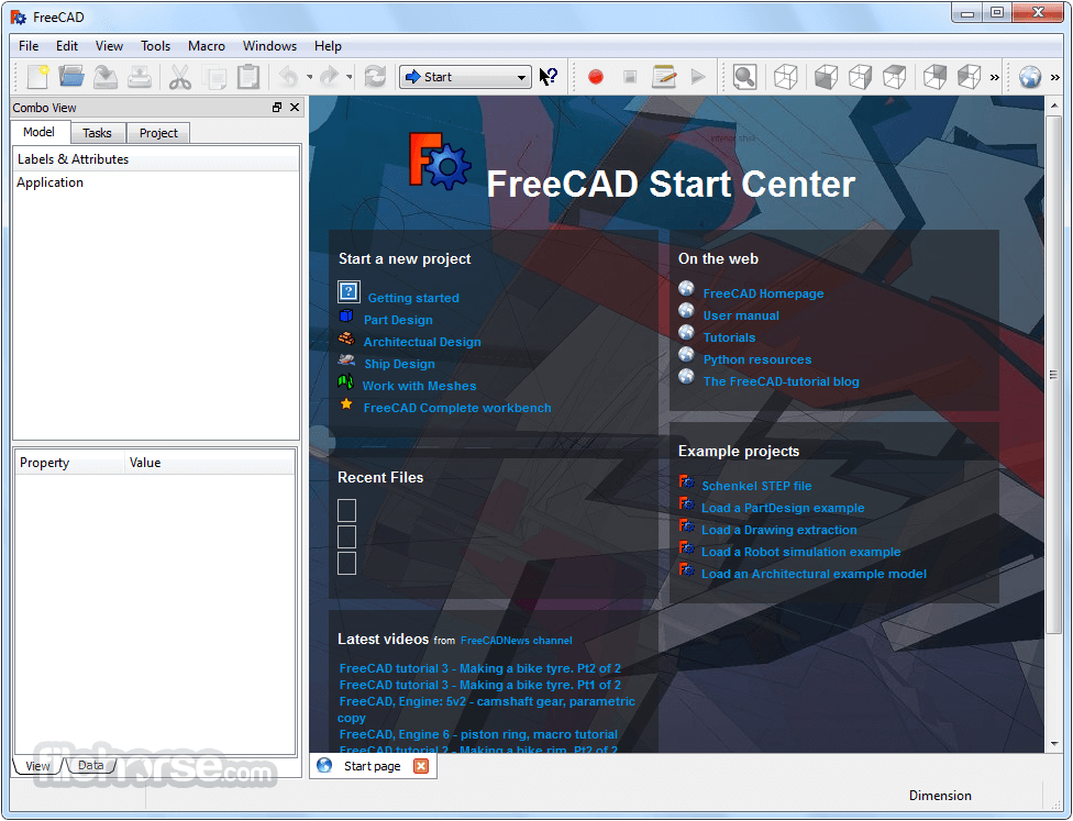 FreeCAD (32-bit) Download (2019 Latest) for Windows 10, 8, 7