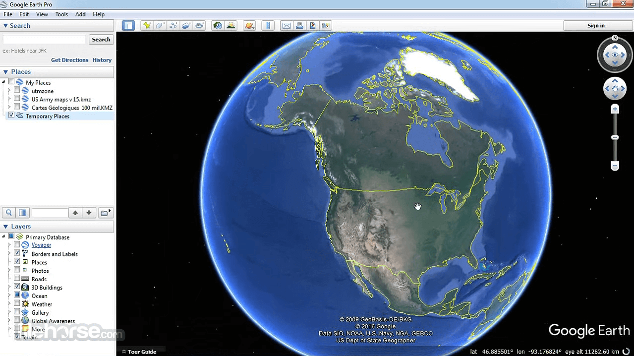 descargar google earth pro 32 bits