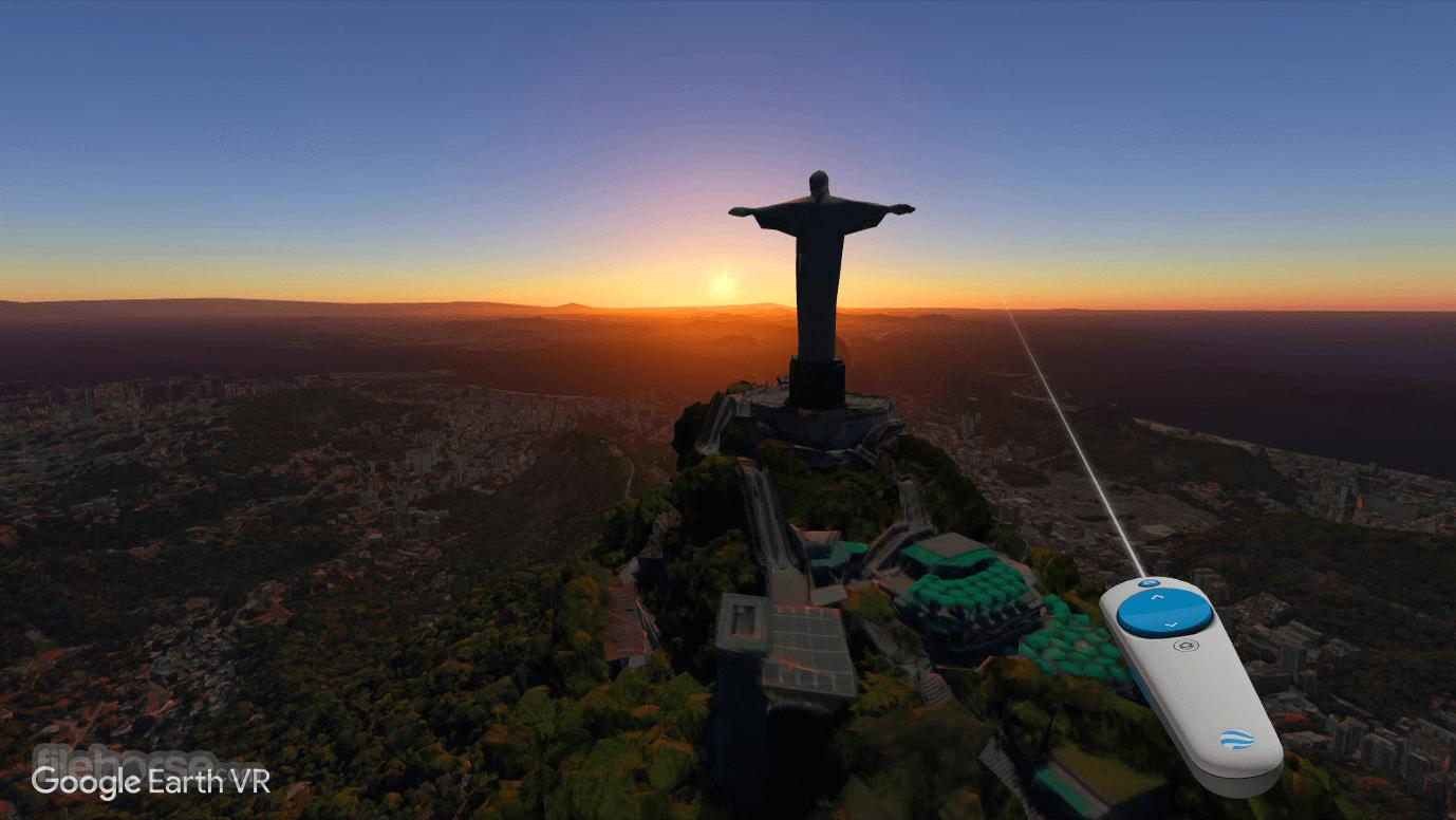 Google Earth VR Captura de Pantalla 3
