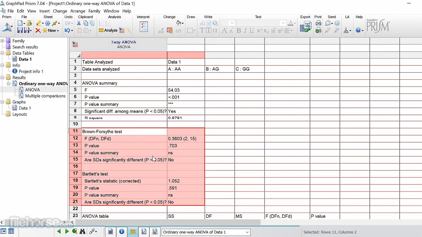 GraphPad Prism 8.4.3.686 Captura de Pantalla 3