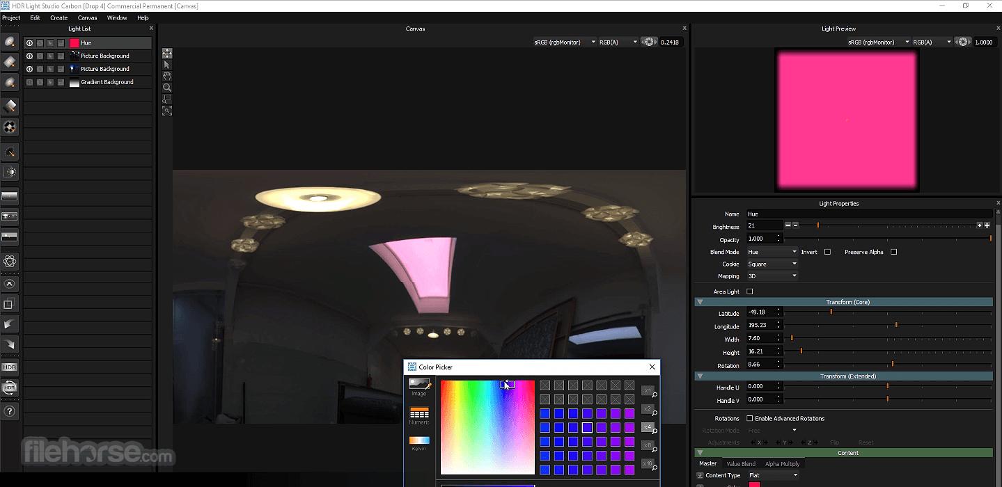 HDR Light Studio Screenshot 4