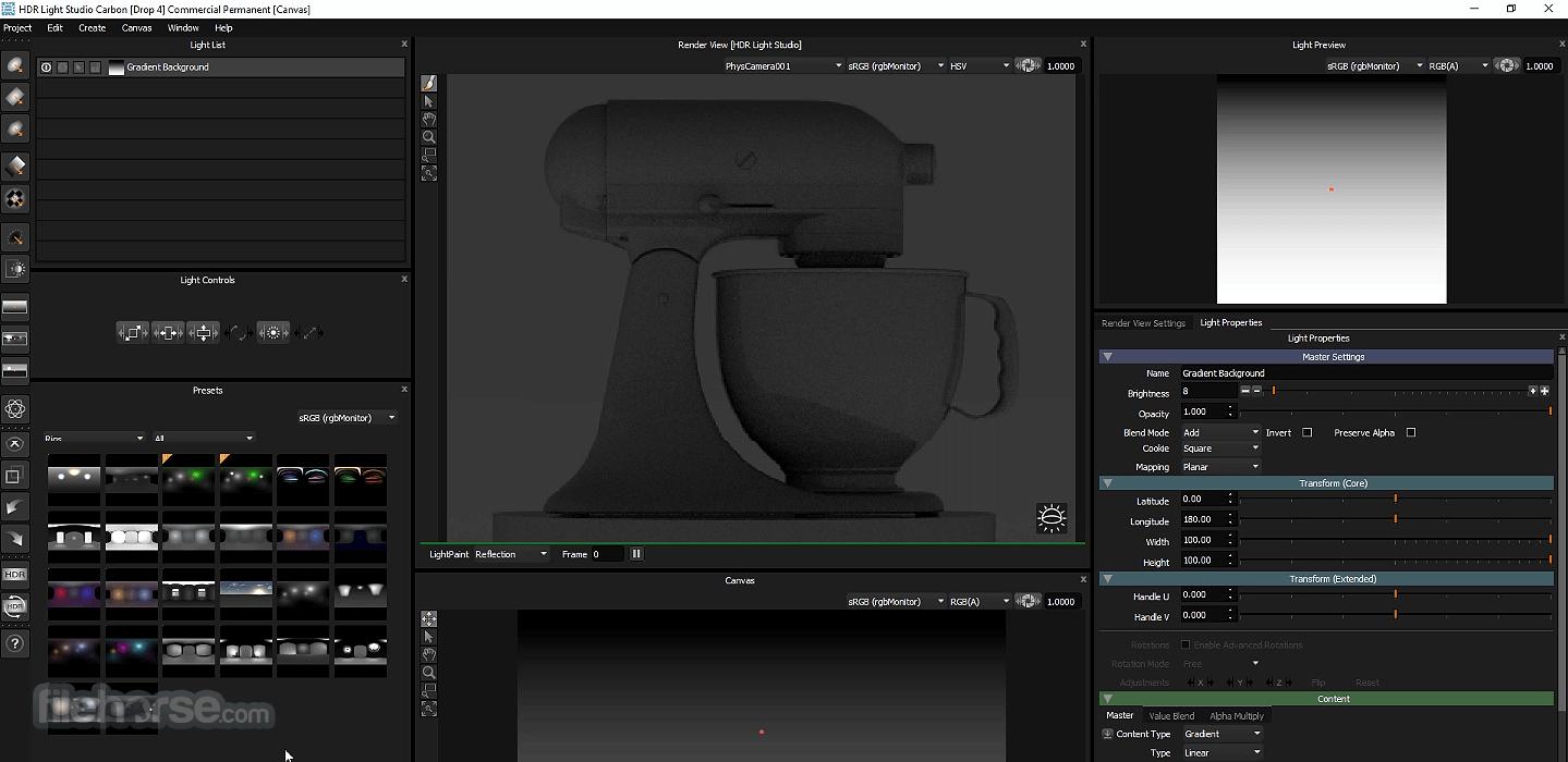 HDR Light Studio Screenshot 5