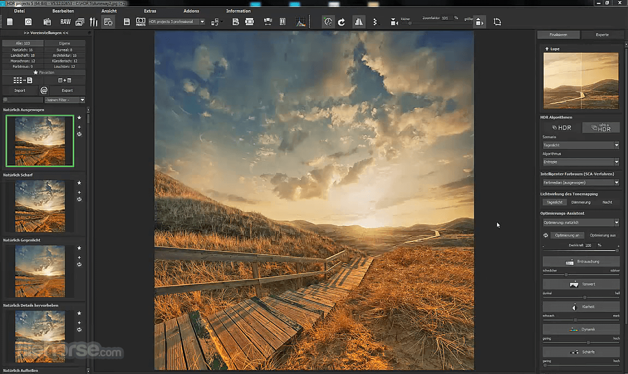 HDR projects 7.23.03465 Screenshot 1