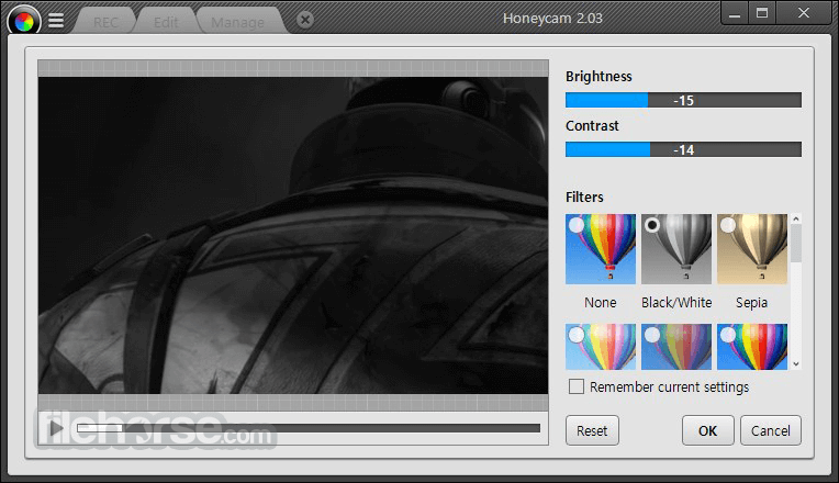 Honeycam 2.03 Screenshot 4