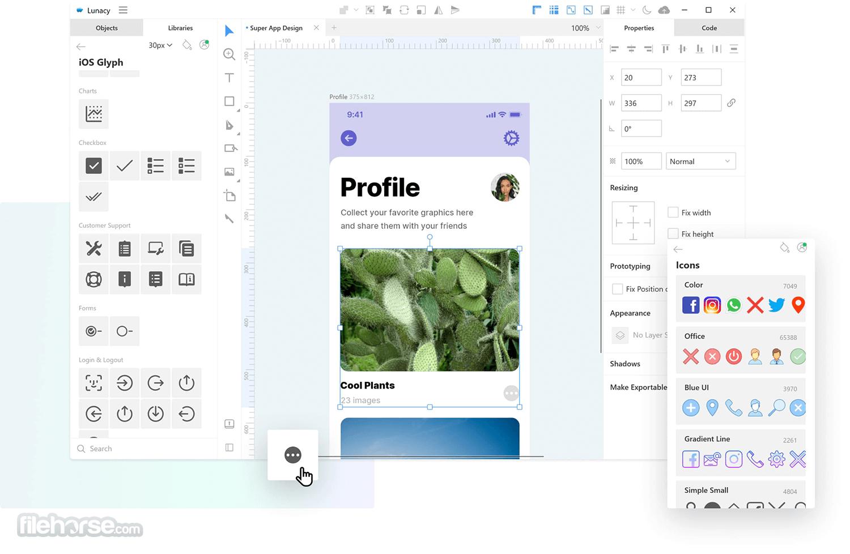 Icons8 Lunacy 7.1 Screenshot 1