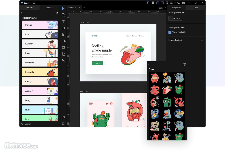 Icons8 Lunacy 7.1 Screenshot 4