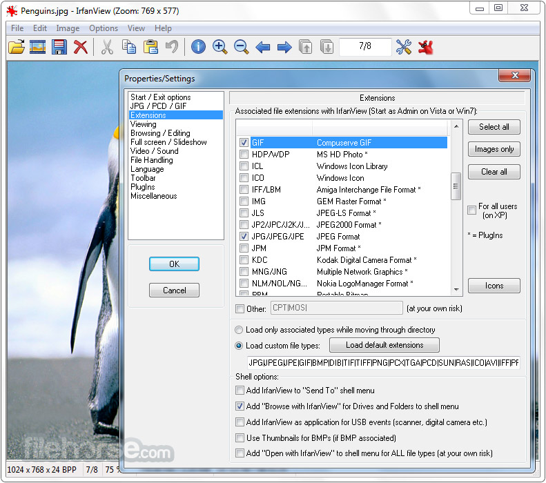 IrfanView 4.51 (64-bit) Screenshot 5