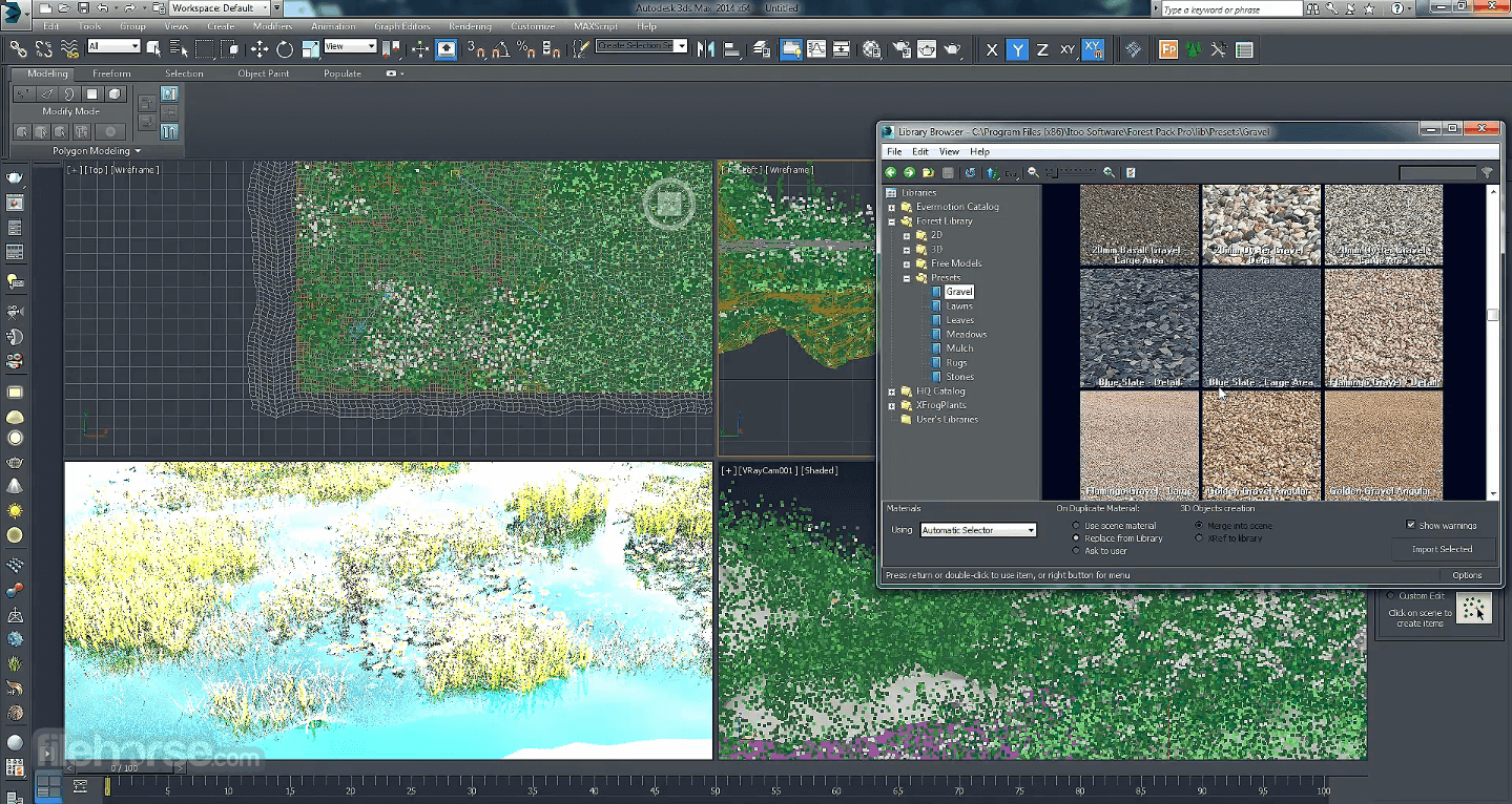 Itoo Forest Pack 6.2 Screenshot 5