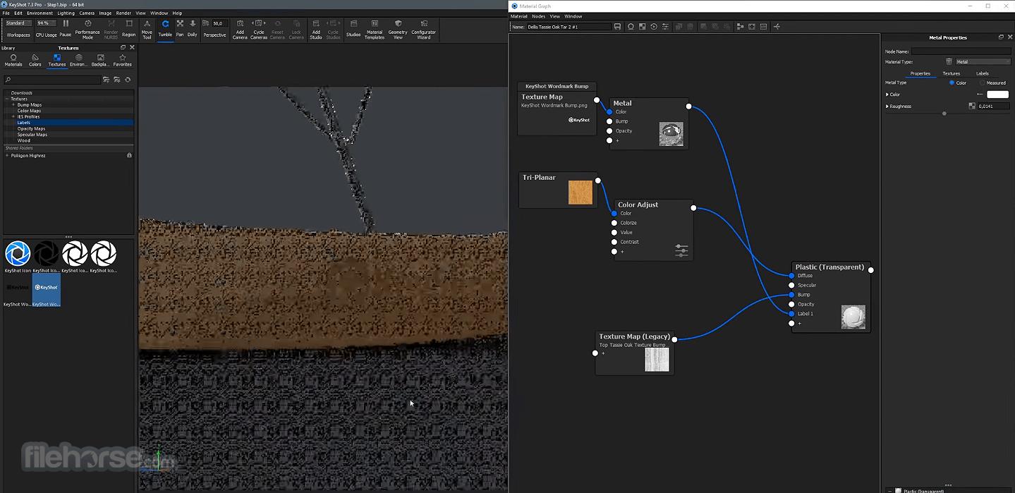 KeyShot 10.2.113 Screenshot 1