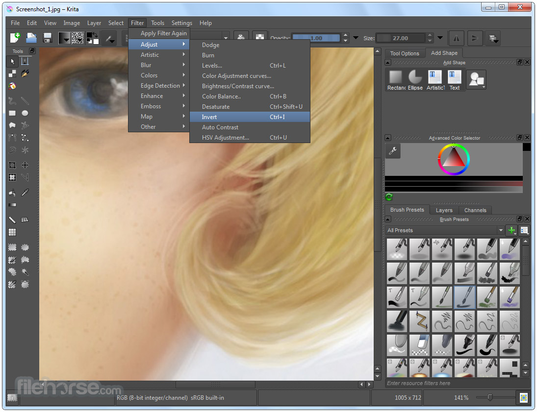Krita 4.1.5 (64-bit) Screenshot 4