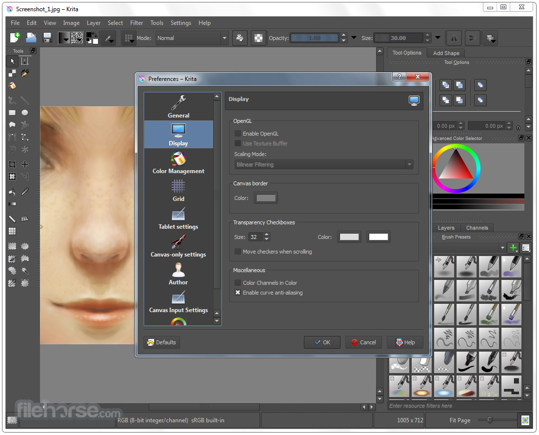 Krita 4.1.5 (64-bit) Screenshot 5