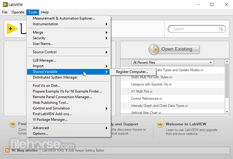 LabVIEW 19.1 SP1 Screenshot 2