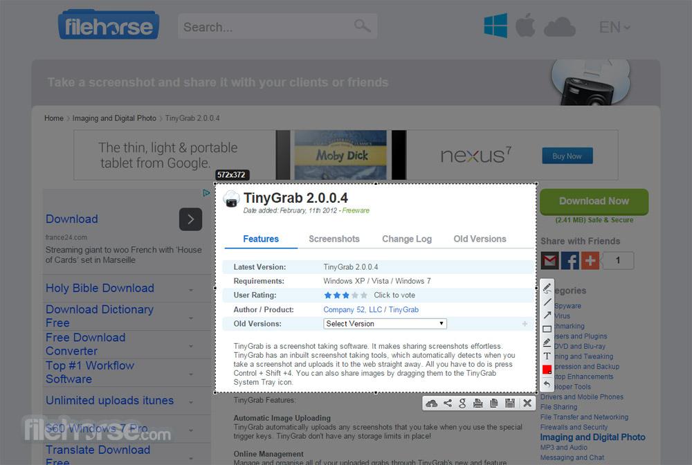 LightShot 5.4.0.1 Download for Windows / FileHorse.com