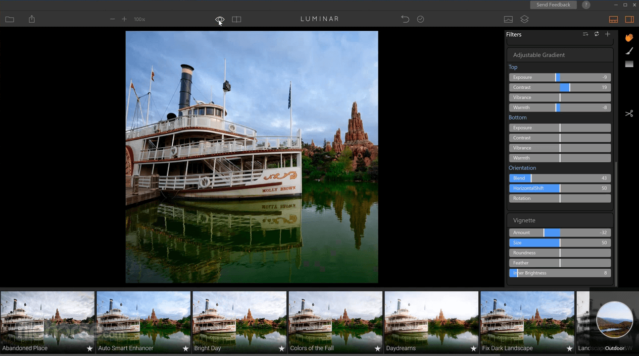 Luminar Photo Editor 4.3.0 Screenshot 2