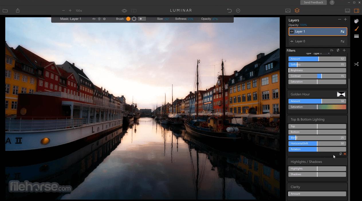 Luminar Photo Editor 4.3.0 Screenshot 4