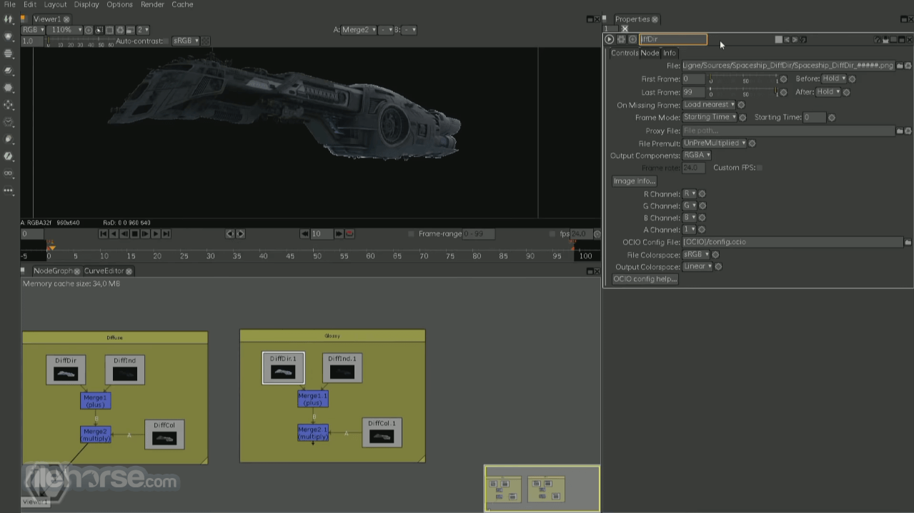 Natron 2.3.15 Screenshot 1