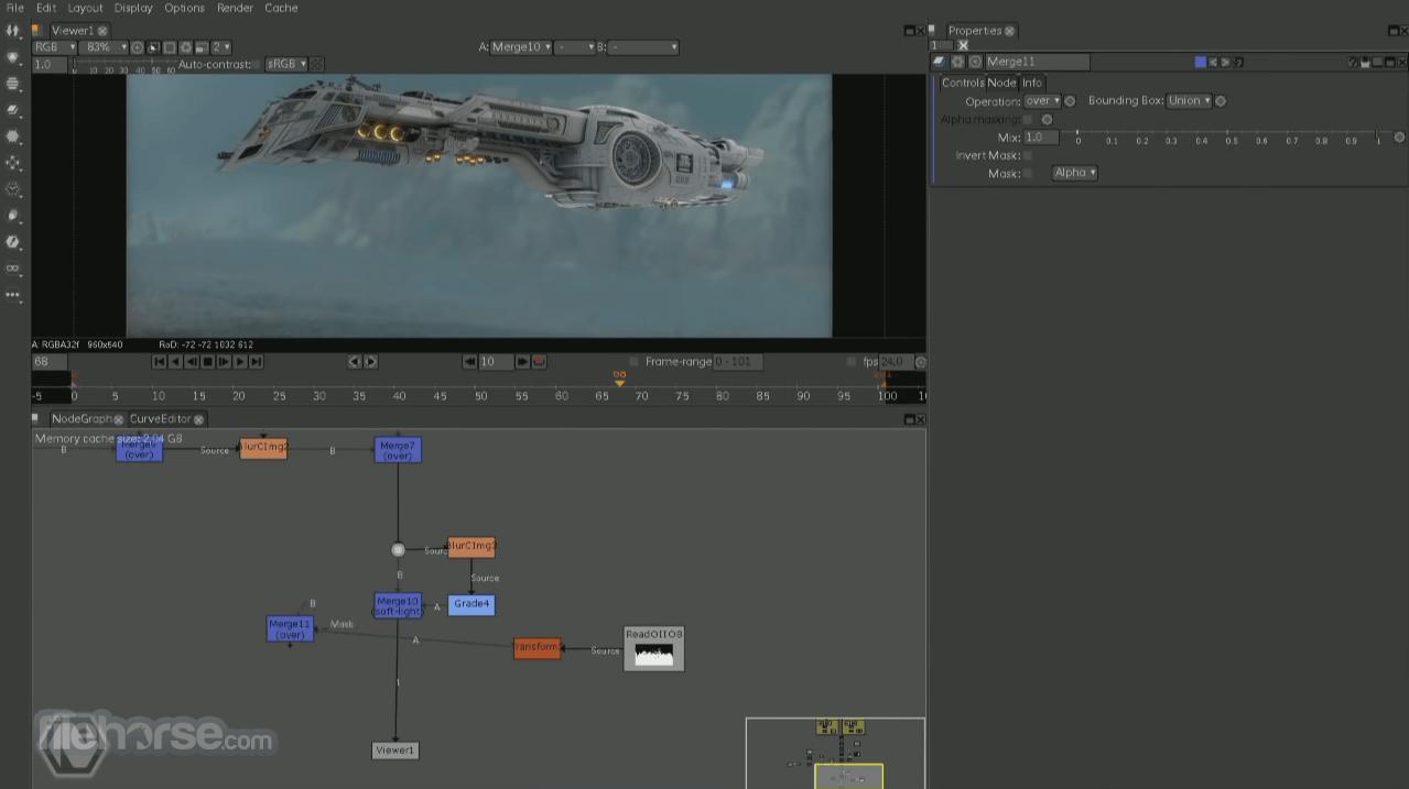 Natron 2.3.15 Screenshot 2
