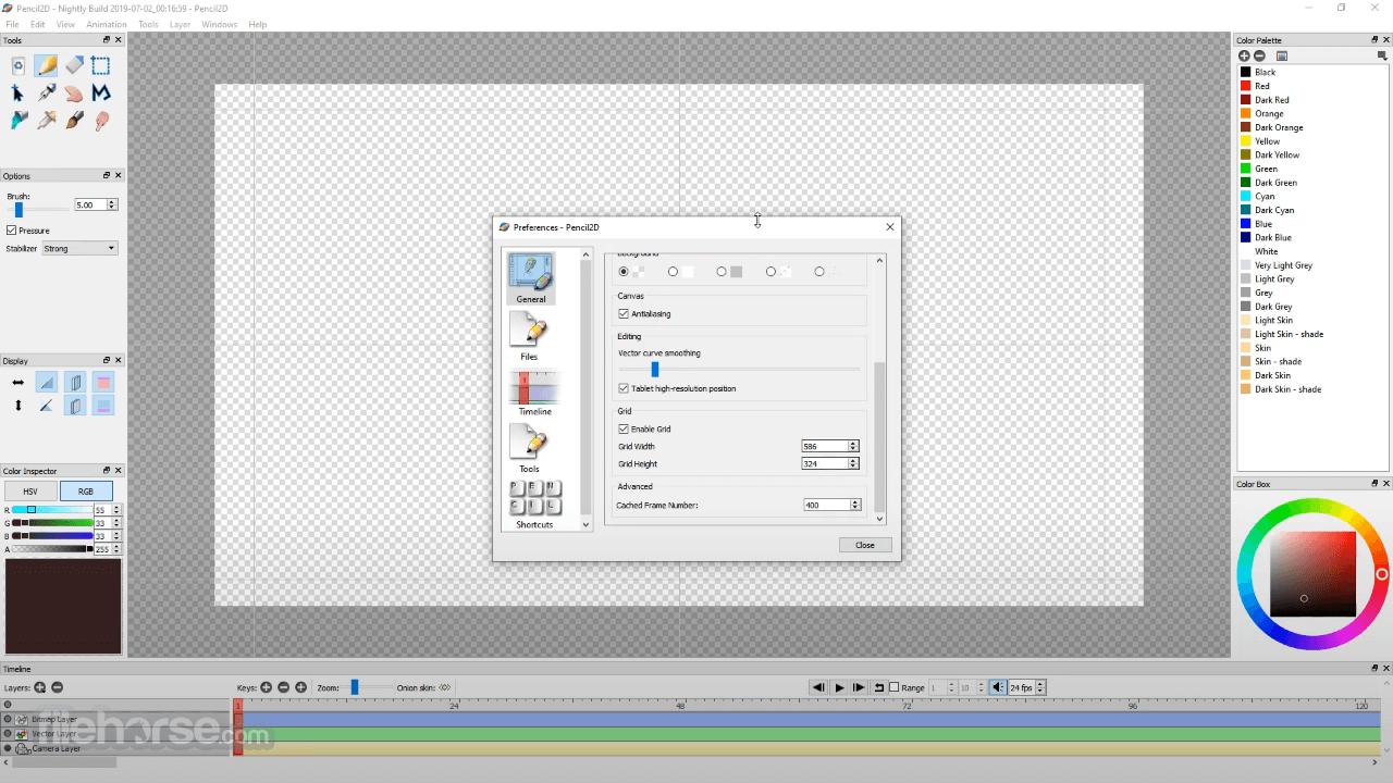 Pencil2D Animation 0.6.6 (32-bit) Screenshot 2