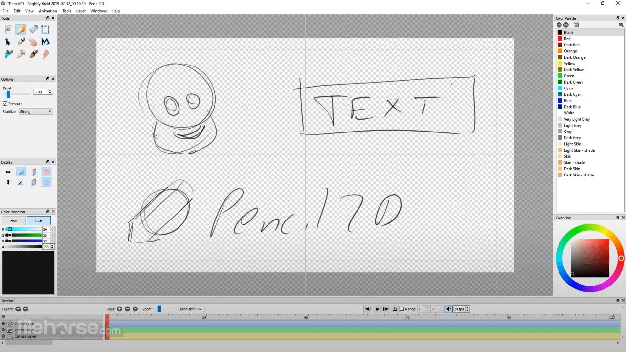 Pencil2D Animation 0.6.6 (32-bit) Screenshot 3