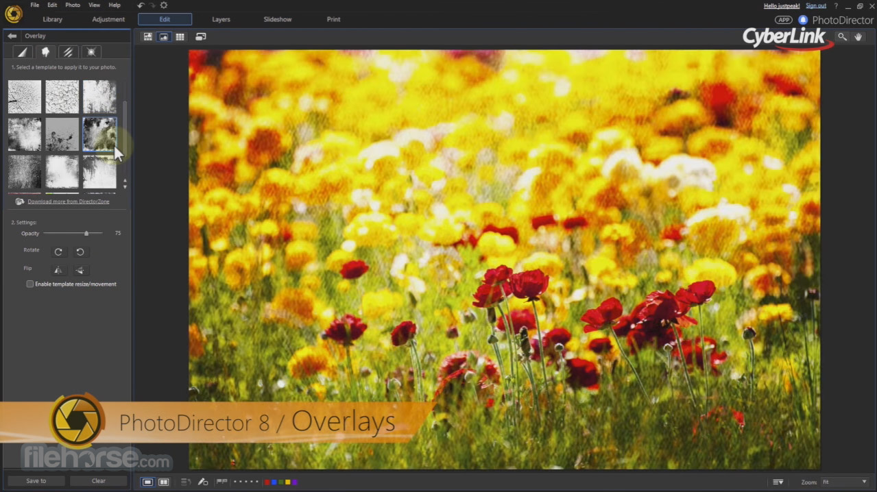 PhotoDirector 9.0.2727 Screenshot 2