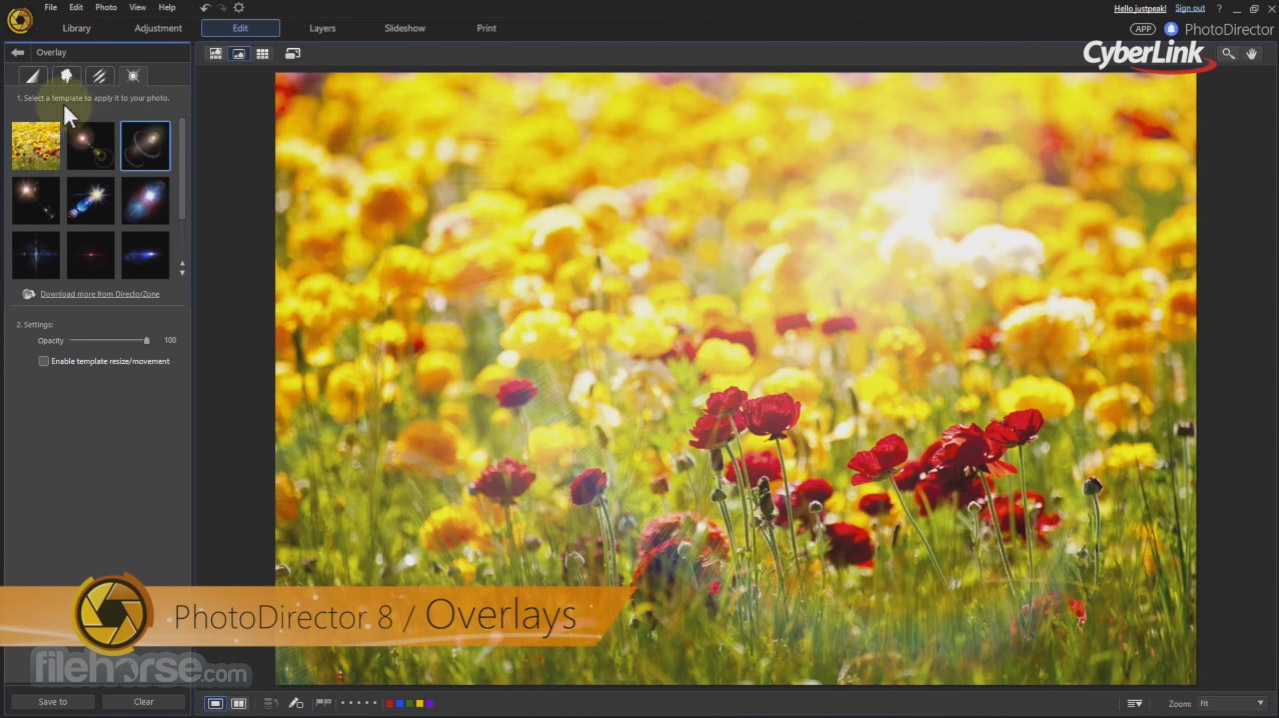 PhotoDirector 9.0.2727 Screenshot 3