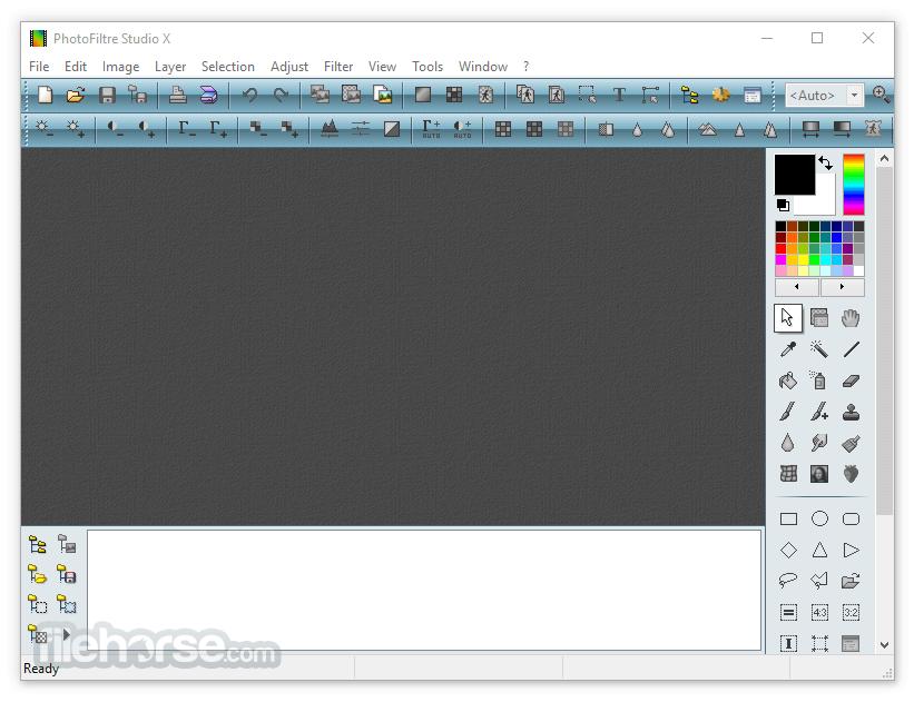 PhotoFiltre Studio X 11.2 Screenshot 1