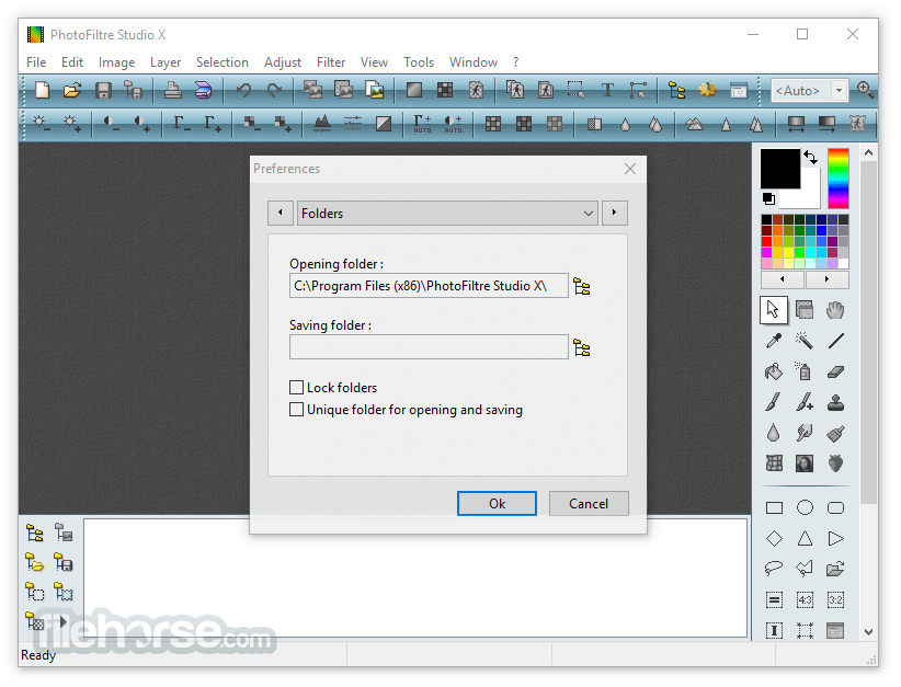PhotoFiltre Studio X 11.2 Screenshot 2
