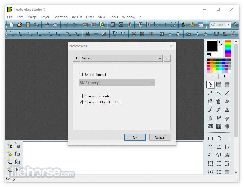 PhotoFiltre Studio X 11.2 Screenshot 4