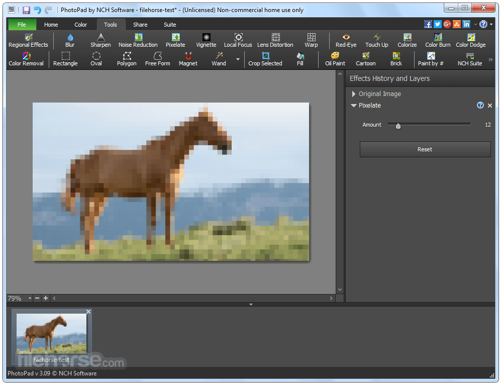 PhotoPad Image Editor 4.18 Screenshot 2