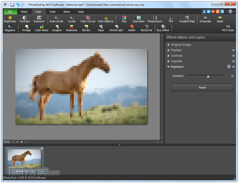 PhotoPad Image Editor 4.18 Screenshot 3