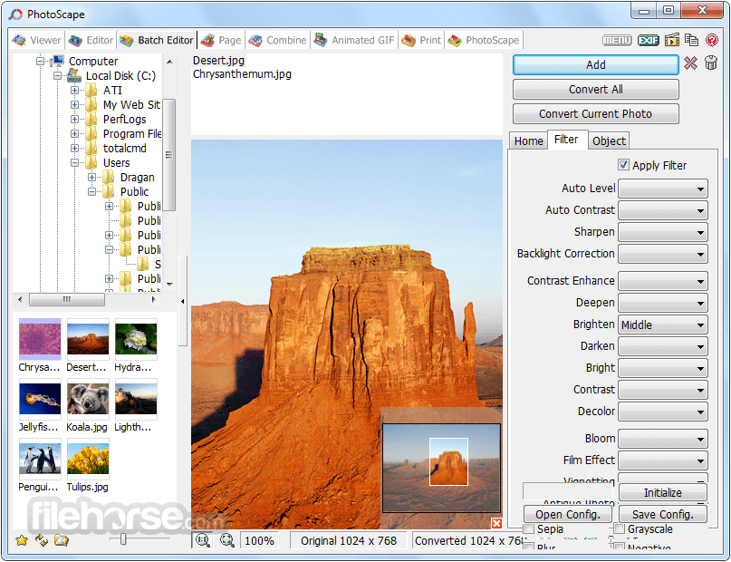 PhotoScape 3.7 Screenshot 4