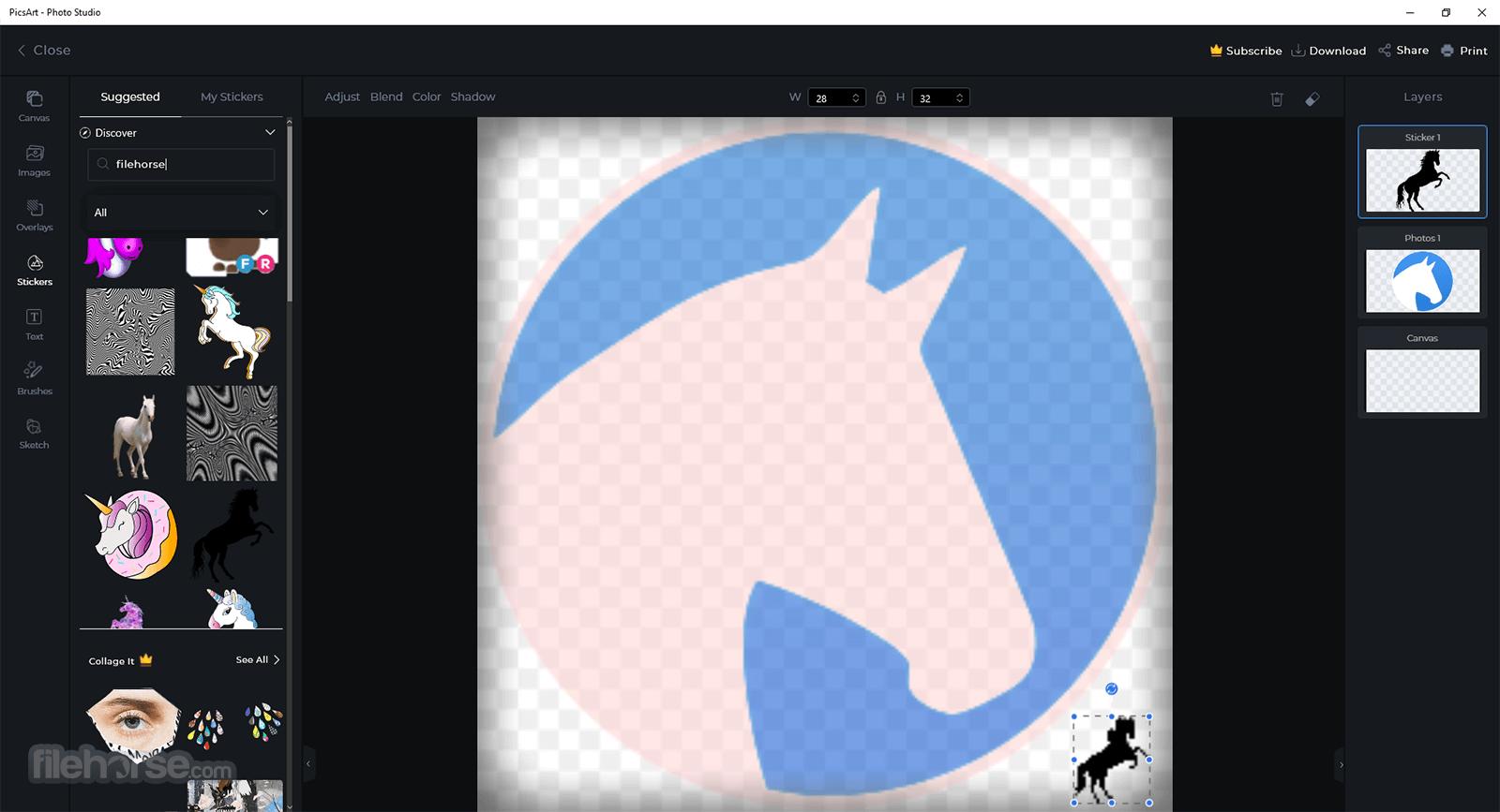 PicsArt for PC 9.4.0 Screenshot 5