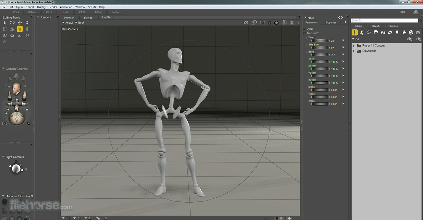 Poser Pro 12.0 Screenshot 5