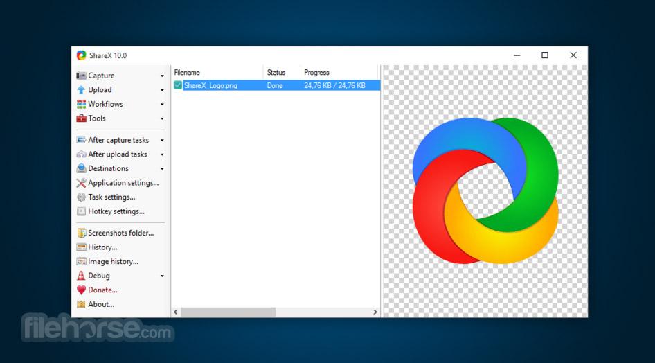 ShareX 12.1.1 Screenshot 1