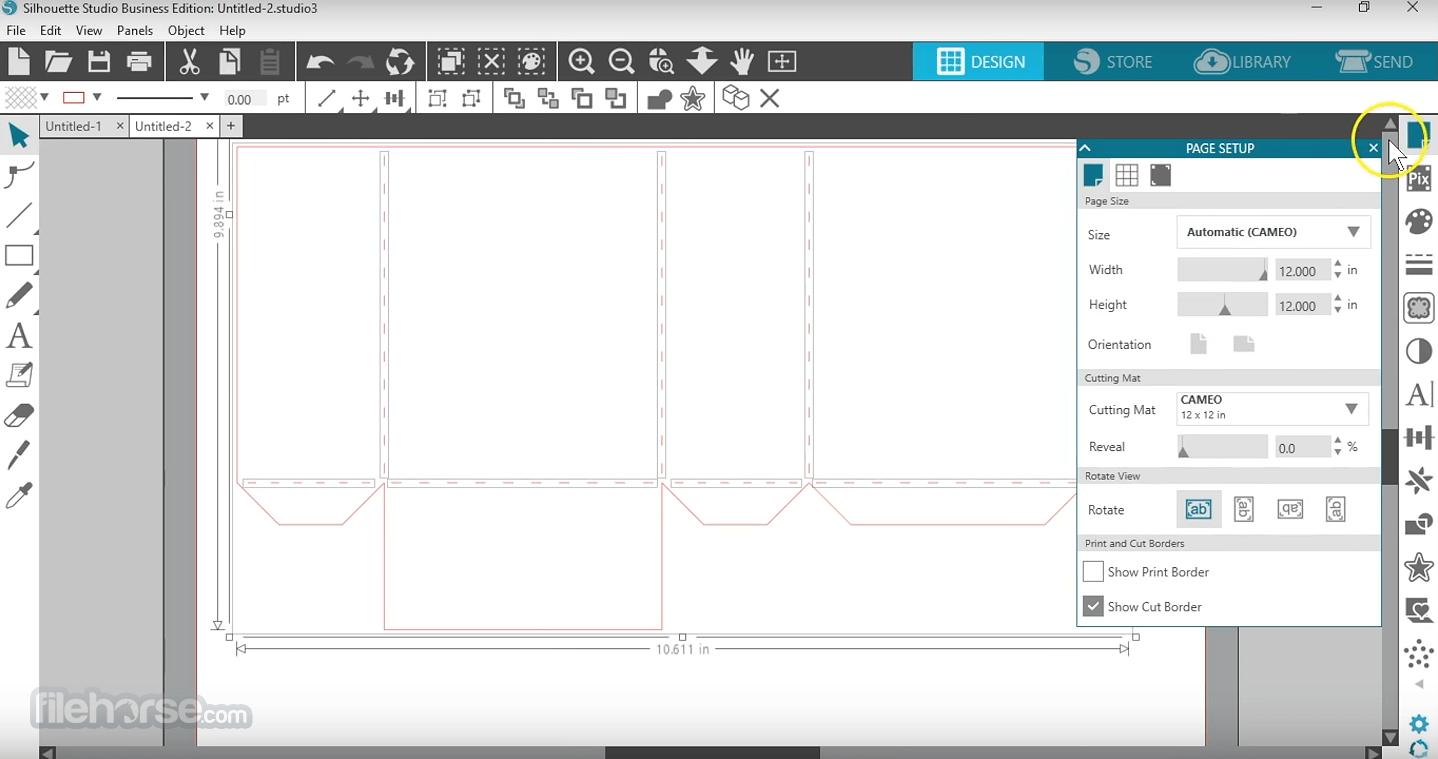 Silhouette Studio 4.4.552 (32-bit) Screenshot 2