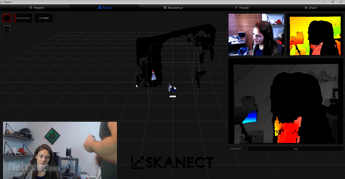 Skanect Pro 1.10 Screenshot 1