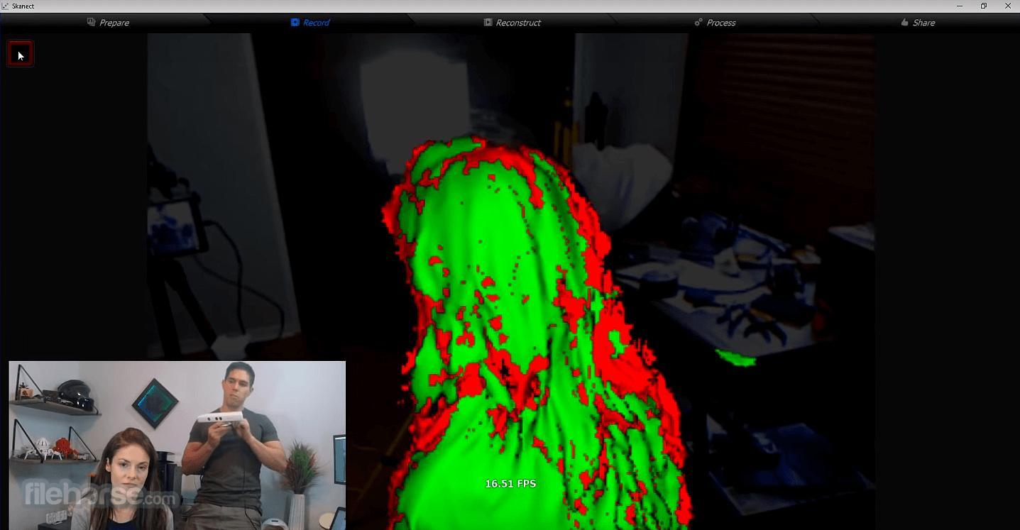 Skanect Pro 1.10 Screenshot 2