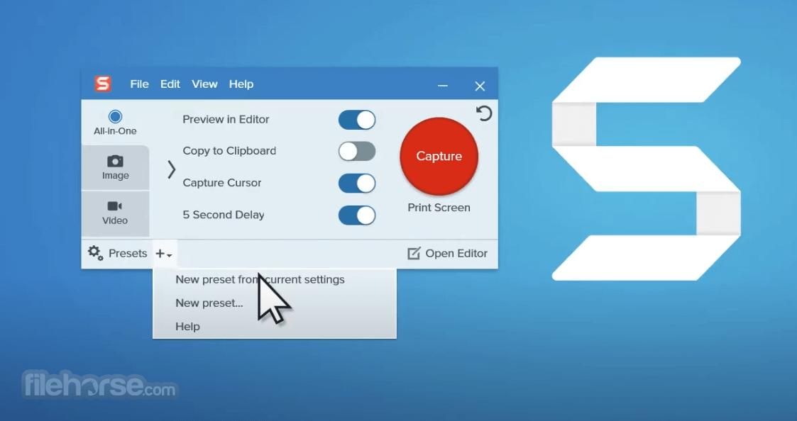 Snagit 2021.3.1 (64-bit) Screenshot 1