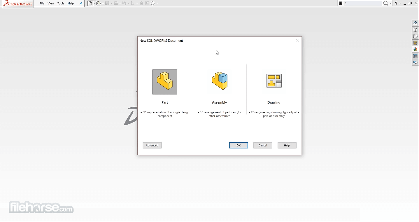 SolidWorks 2020 Captura de Pantalla 1