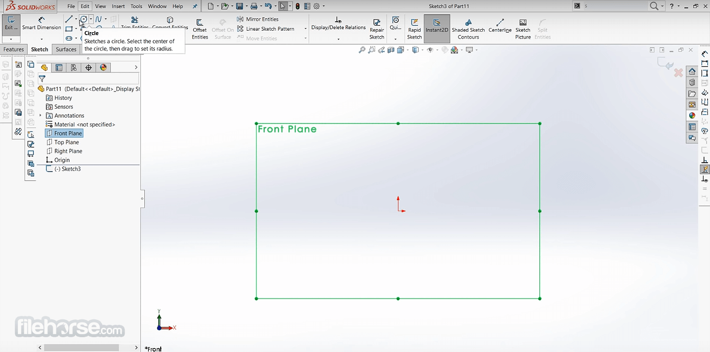 SolidWorks 2021 Screenshot 2