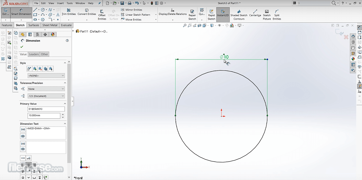SolidWorks 2020 Captura de Pantalla 3