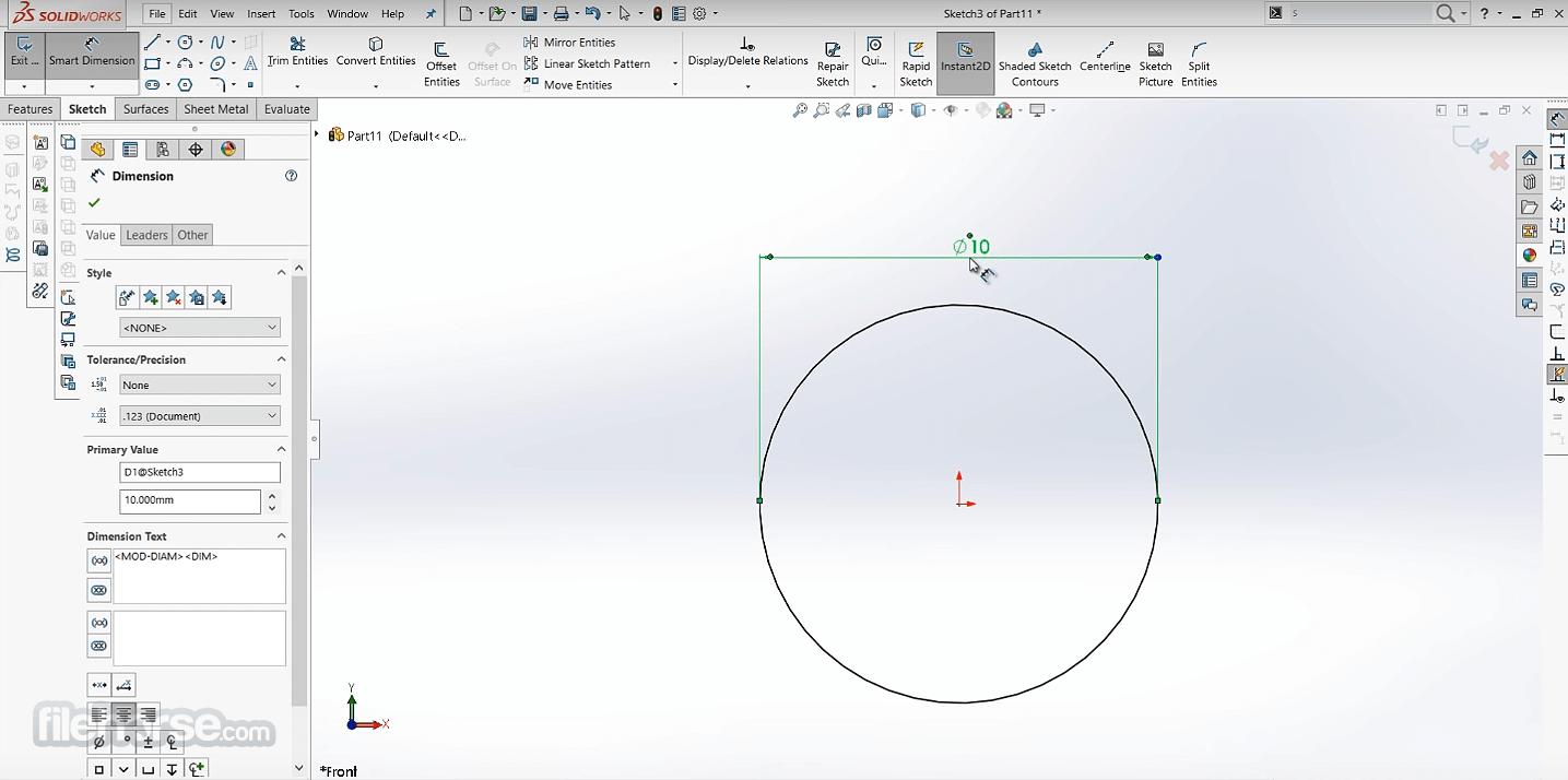 SolidWorks 2021 Screenshot 3
