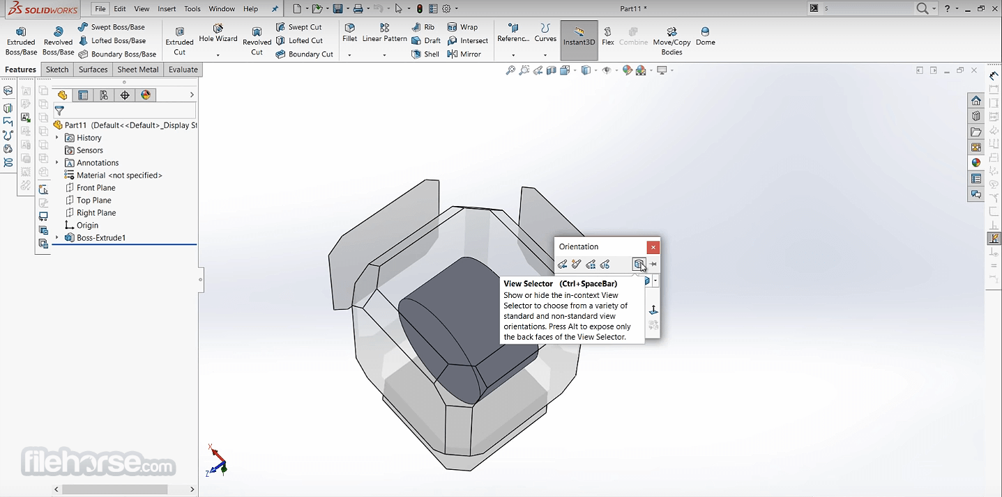 SolidWorks 2020 Captura de Pantalla 4