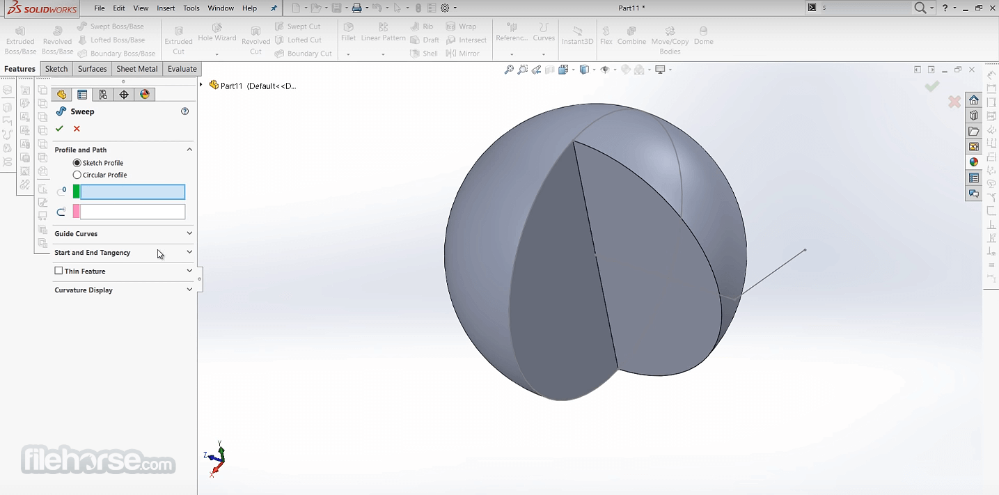 SolidWorks 2020 Captura de Pantalla 5