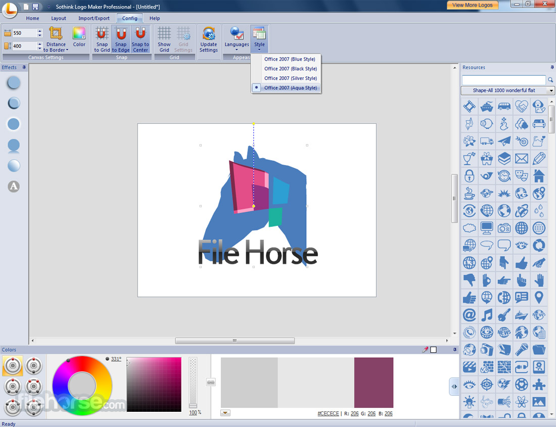 Sothink Logo Maker Professional 4.4 Build 4625 Captura de Pantalla 3